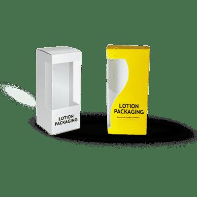 cbd lotion packaging